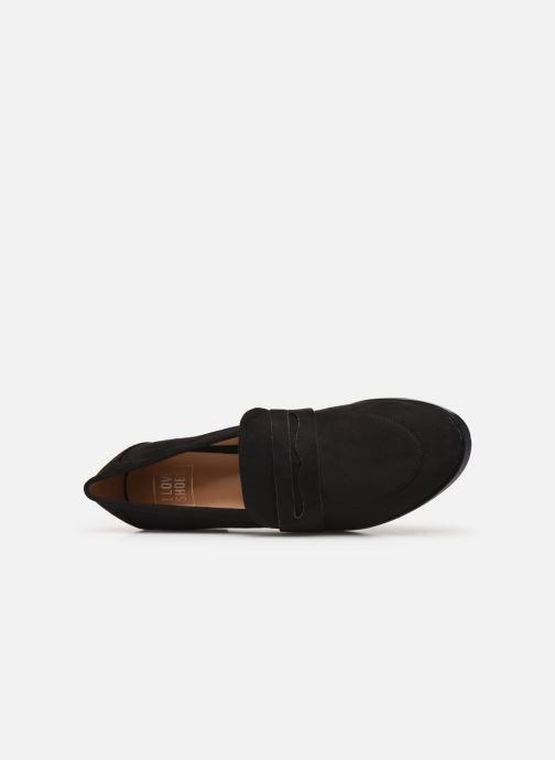 Mocassins I Love Shoes CARLYLE Noir vue gauche
