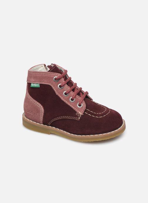 Bottines et boots Kickers Kouklegend B Violet vue détail/paire
