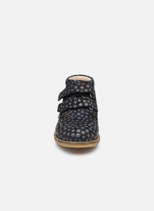 Bottines et boots Kickers Nonomatic Noir vue portées chaussures