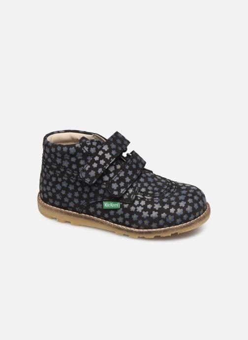 Bottines et boots Kickers Nonomatic Noir vue détail/paire