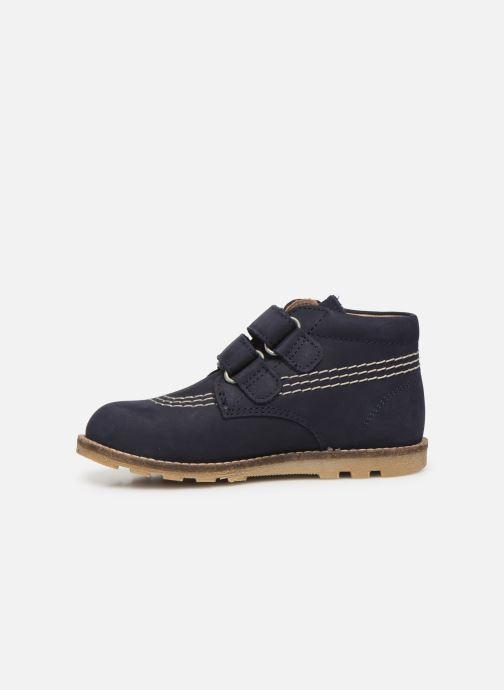 Bottines et boots Kickers Nonomatic Bleu vue face