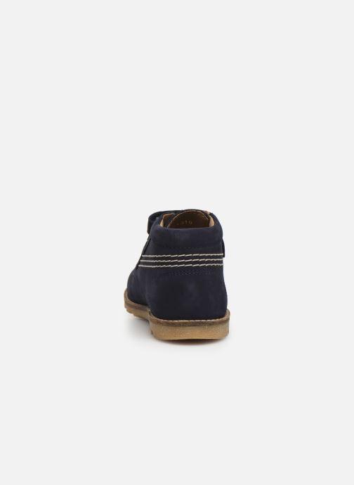 Bottines et boots Kickers Nonomatic Bleu vue droite