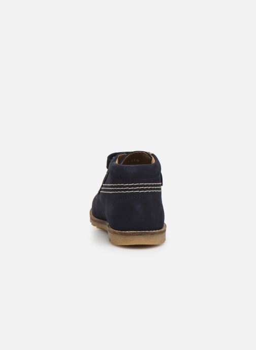 Boots en enkellaarsjes Kickers Nonomatic Blauw rechts