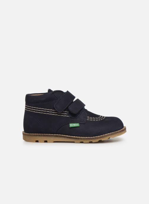 Bottines et boots Kickers Nonomatic Bleu vue derrière