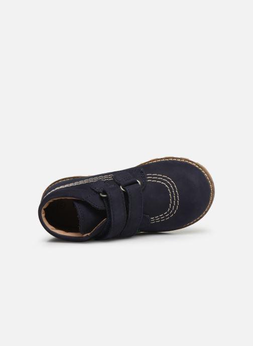 Boots en enkellaarsjes Kickers Nonomatic Blauw links
