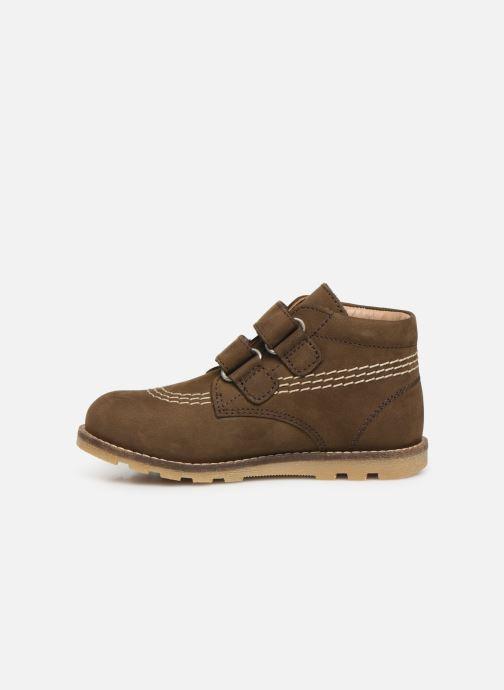Boots en enkellaarsjes Kickers Nonomatic Groen voorkant