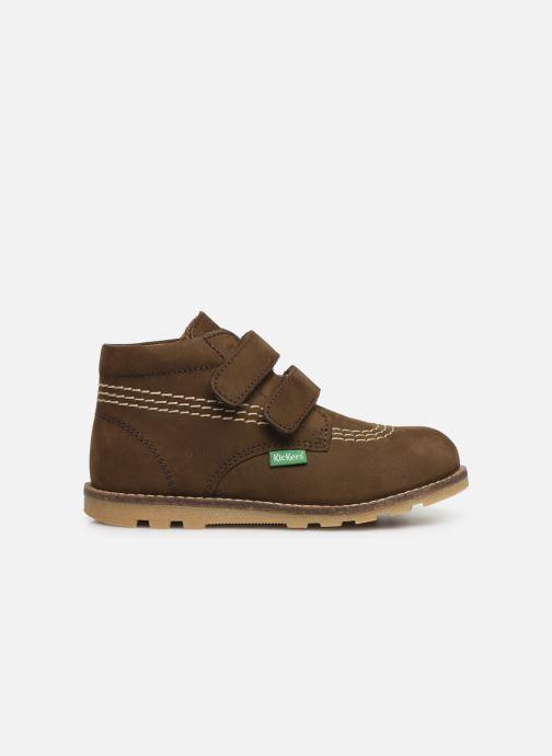 Boots en enkellaarsjes Kickers Nonomatic Groen achterkant