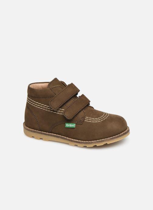 Boots en enkellaarsjes Kickers Nonomatic Groen detail