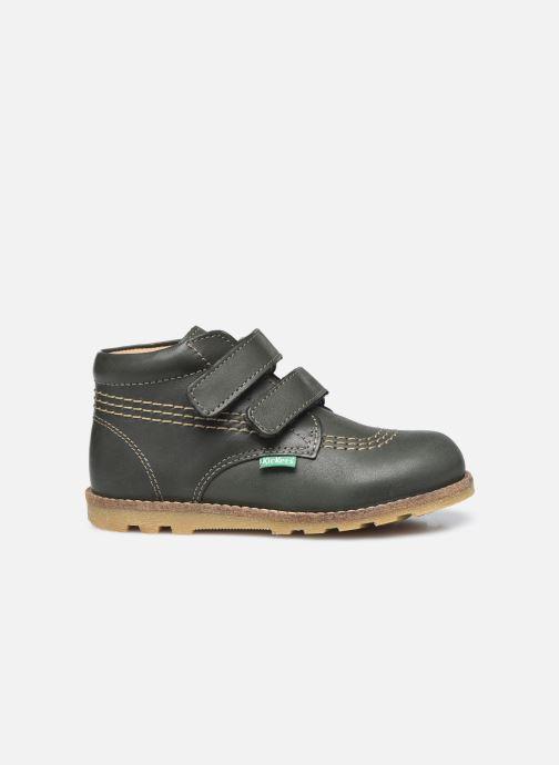 Stiefeletten & Boots Kickers Nonomatic grün ansicht von hinten