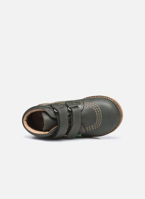 Stiefeletten & Boots Kickers Nonomatic grün ansicht von links