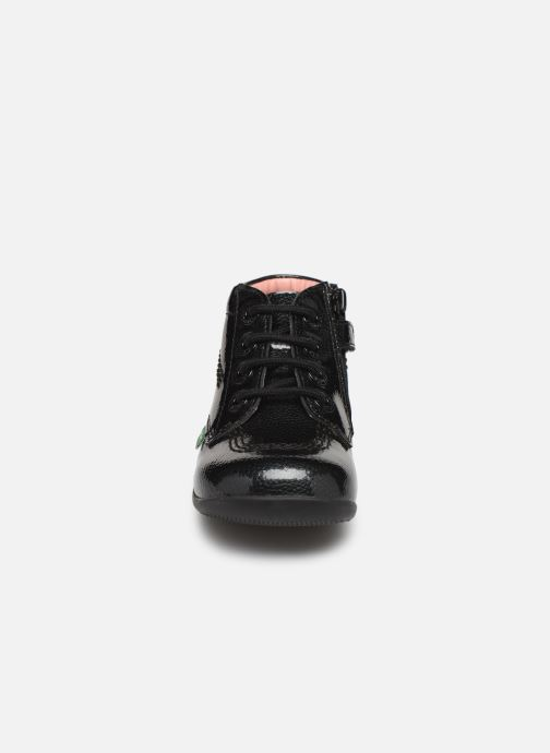 Stiefeletten & Boots Kickers Billista Zip schwarz schuhe getragen