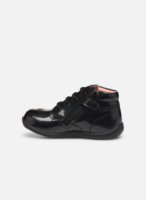 Boots en enkellaarsjes Kickers Billista Zip Zwart voorkant