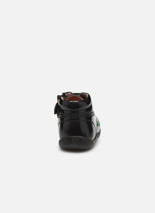 Bottines et boots Kickers Billista Zip Noir vue droite