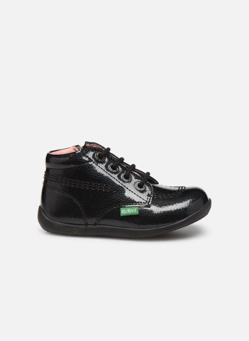 Boots en enkellaarsjes Kickers Billista Zip Zwart achterkant