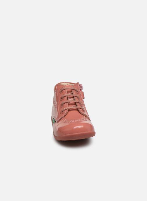 Boots en enkellaarsjes Kickers Billista Zip Roze model