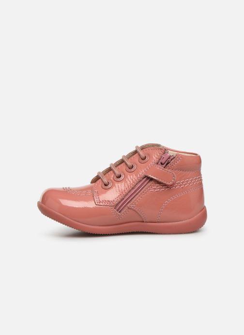 Boots en enkellaarsjes Kickers Billista Zip Roze voorkant