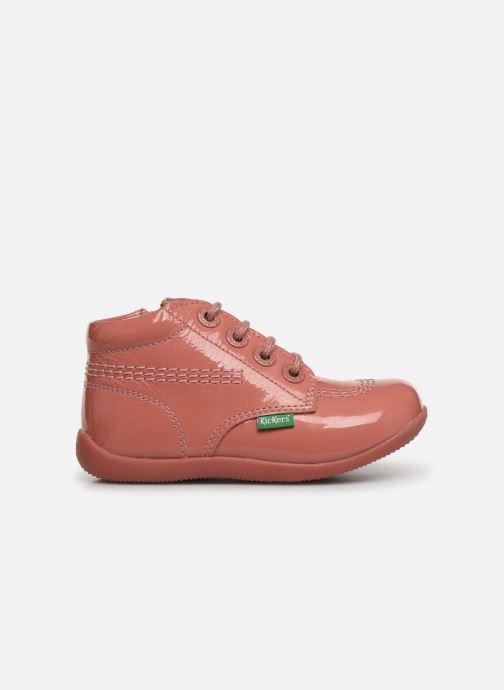 Boots en enkellaarsjes Kickers Billista Zip Roze achterkant