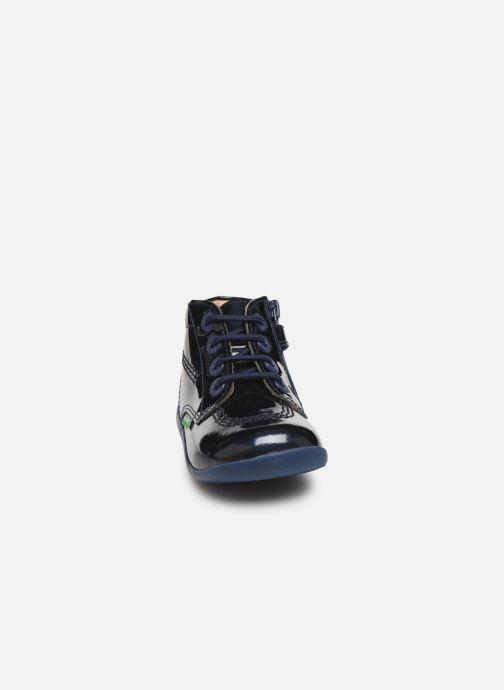 Boots en enkellaarsjes Kickers Billista Zip Blauw model