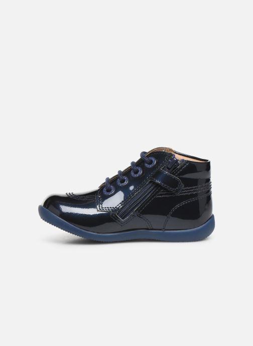 Boots en enkellaarsjes Kickers Billista Zip Blauw voorkant