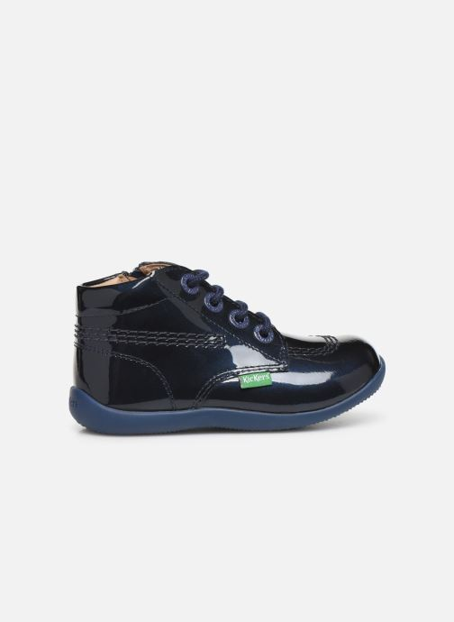 Boots en enkellaarsjes Kickers Billista Zip Blauw achterkant