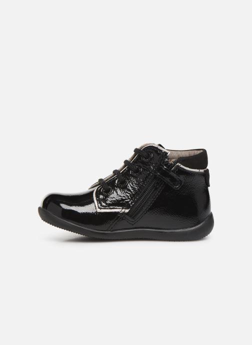 Bottines et boots Kickers Birock Noir vue face