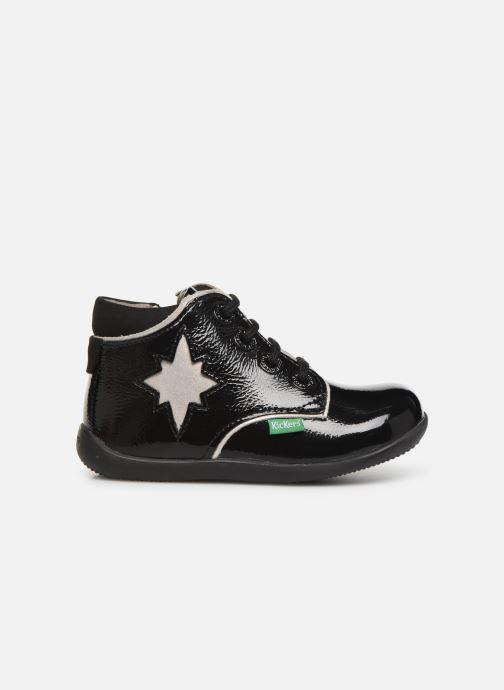 Boots en enkellaarsjes Kickers Birock Zwart achterkant