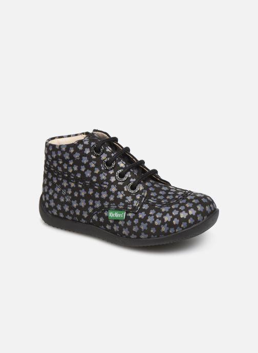 Bottines et boots Kickers Billy Zip Noir vue détail/paire