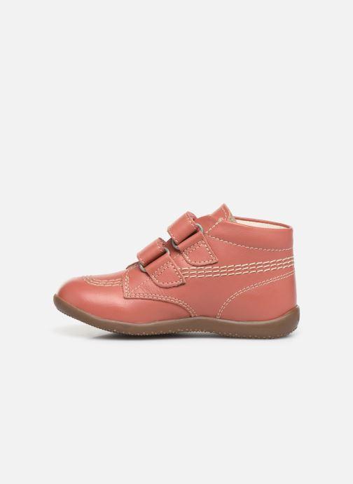 Boots en enkellaarsjes Kickers Bikro Roze voorkant