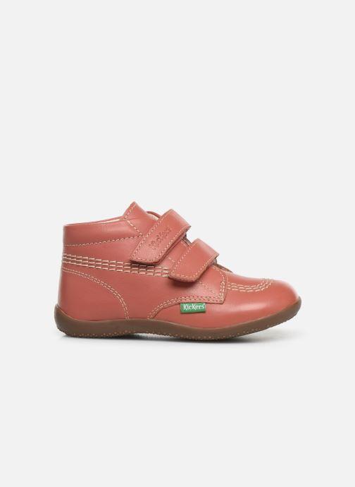 Bottines et boots Kickers Bikro Rose vue derrière