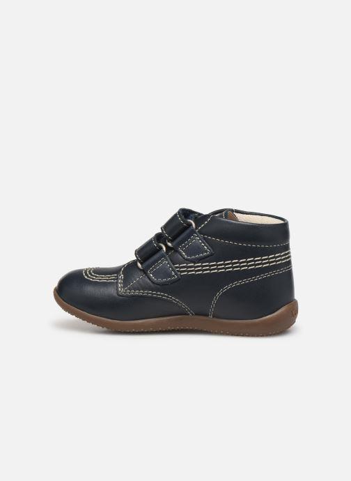 Boots en enkellaarsjes Kickers Bikro Blauw voorkant