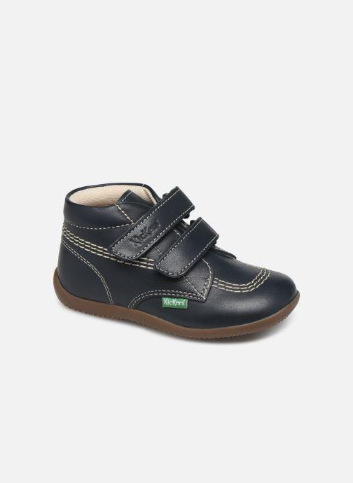 Boots en enkellaarsjes Kickers Bikro Blauw detail