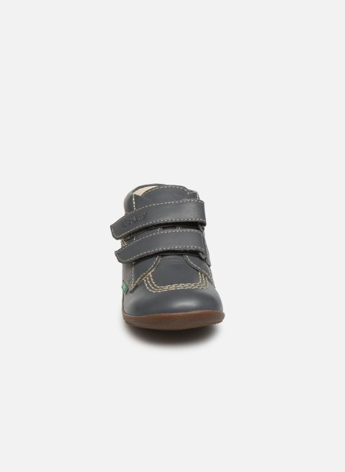 Boots en enkellaarsjes Kickers Bikro Grijs model