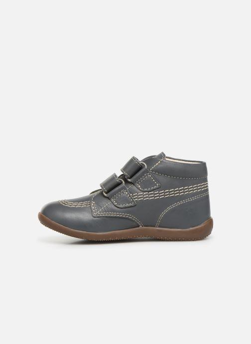 Boots en enkellaarsjes Kickers Bikro Grijs voorkant