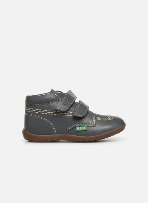 Boots en enkellaarsjes Kickers Bikro Grijs achterkant