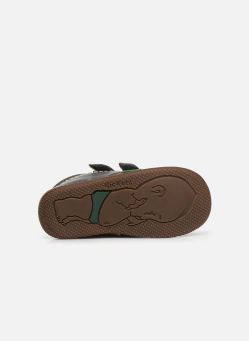 Bottines et boots Kickers Bikro Gris vue haut
