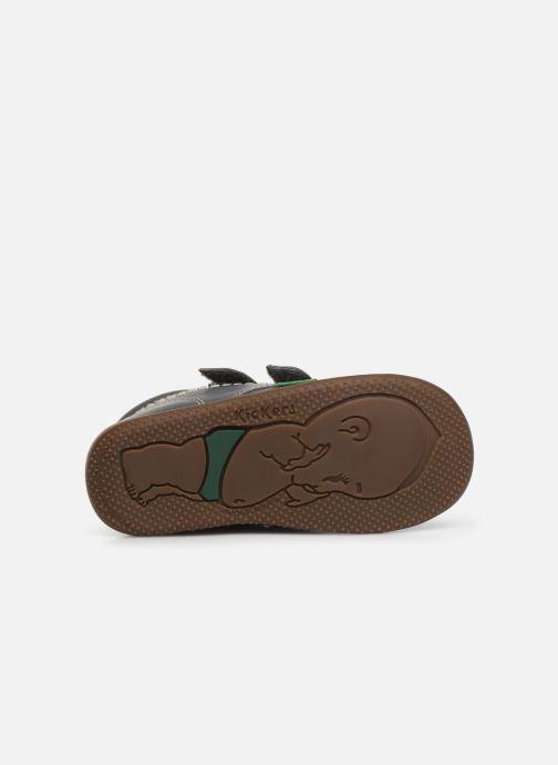 Boots en enkellaarsjes Kickers Bikro Grijs boven