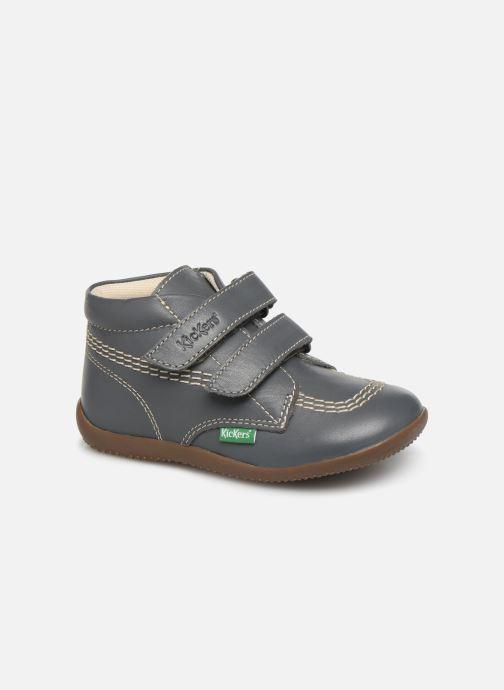 Bottines et boots Kickers Bikro Gris vue détail/paire