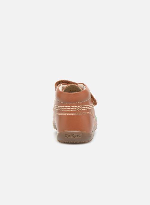 Boots en enkellaarsjes Kickers Bikro Bruin rechts