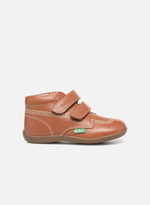 Boots en enkellaarsjes Kickers Bikro Bruin achterkant