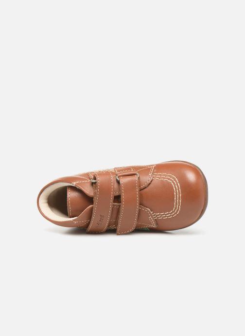 Bottines et boots Kickers Bikro Marron vue gauche