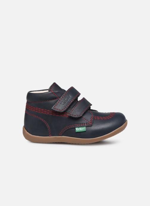 Boots en enkellaarsjes Kickers Bikro Blauw achterkant