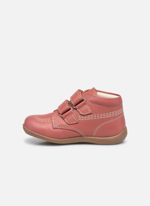 Bottines et boots Kickers Bikro Rose vue face