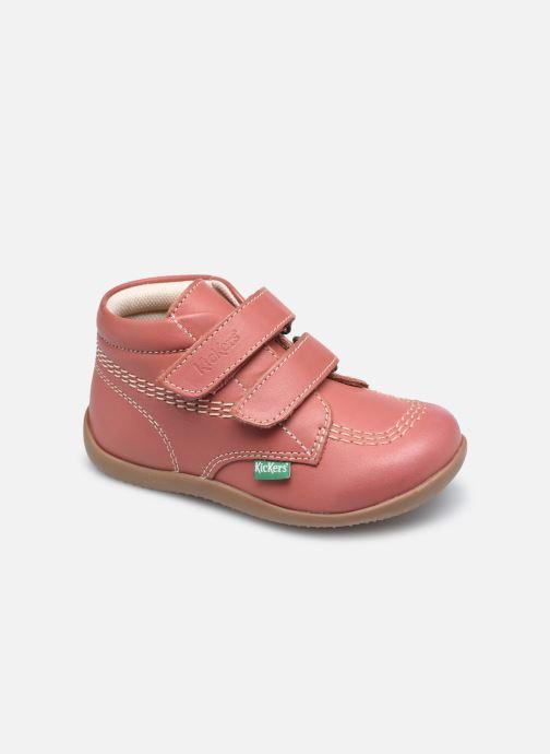 Botines  Kickers Bikro Rosa vista de detalle / par