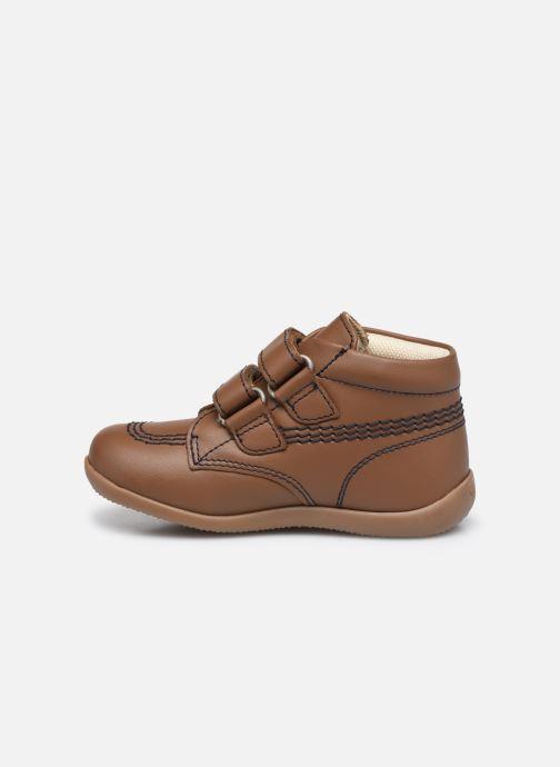 Stiefeletten & Boots Kickers Bikro braun ansicht von vorne