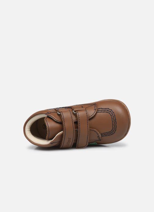 Stiefeletten & Boots Kickers Bikro braun ansicht von links