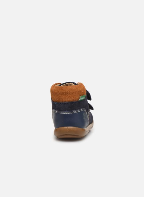 Bottines et boots Kickers Kira Bleu vue droite