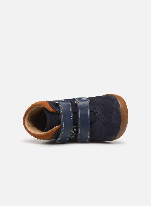Bottines et boots Kickers Kira Bleu vue gauche