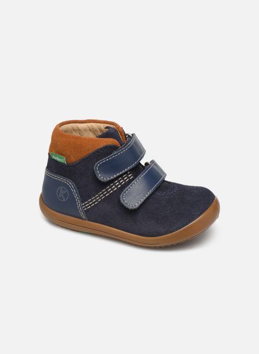 Bottines et boots Kickers Kira Bleu vue détail/paire