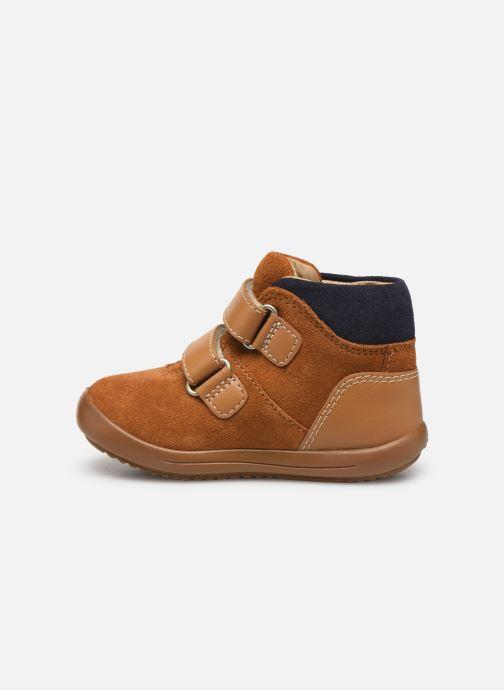 Boots en enkellaarsjes Kickers Kira Geel voorkant