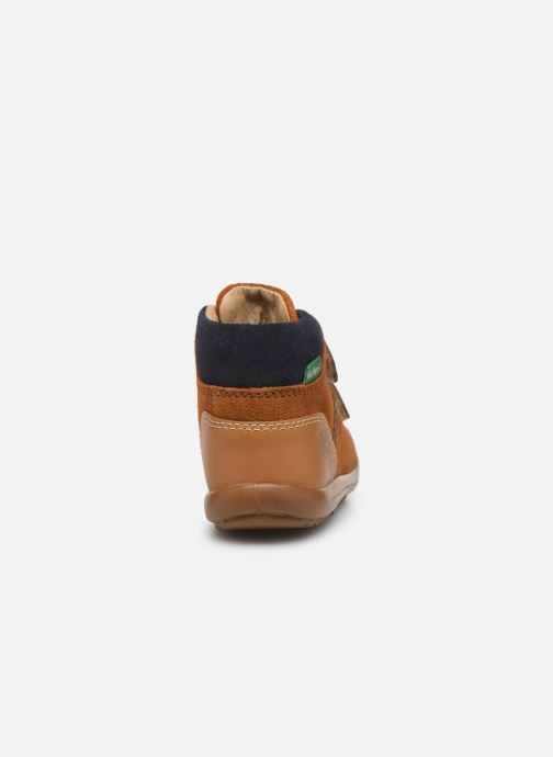 Bottines et boots Kickers Kira Jaune vue droite